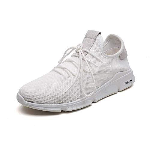 RYHM Ultralight Sports & Running Shoes for Men & Boys (9, White)