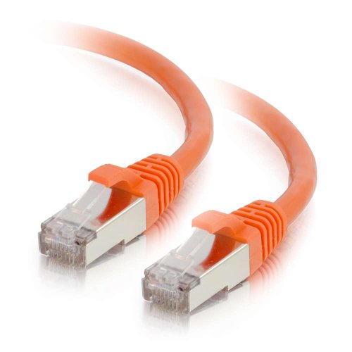 Cables to Go Cat6 Netzwerk-Patchkabel (snagless, geschirmt, STP) Orange 20 Feet - Orange Snagless Network Cable