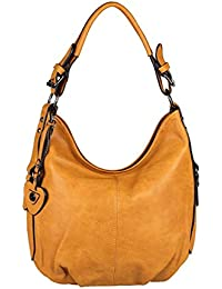 OBC Only-Beautiful-Couture - Bolso de tela para mujer Marrón coñac ca.: 33x30x12 cm (BxHxT)