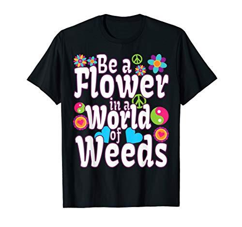 Kostüm Liebe Frieden Shirt Und - Lustiges Retro Groovy Hippy T-Shirt Liebe Frieden Kostüm