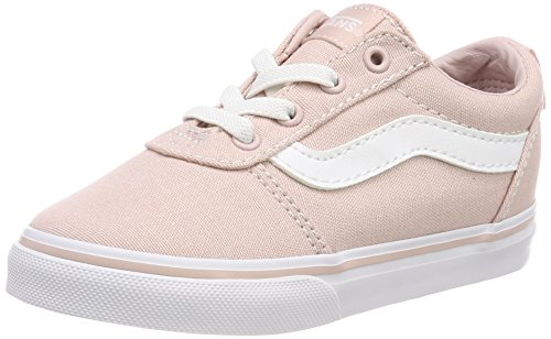 Vans Unisex Baby Ward Slip-ON Sneaker, Pink ((Canvas) Sepia Rose Oln), 20 EU