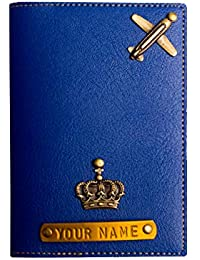 Personalised Pu Leather Passport Cover for Women/Men/Girls/Unisex