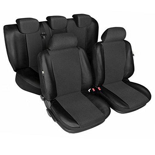 gsmarkt | Schwarz Sitzbezüge Komplettset Sitzbezug für Auto Sitzschoner Schonbezüge Autositz Autositzbezüge Sitzauflagen Sitzschutz Centurion (Cruiser-sitz-tasche)