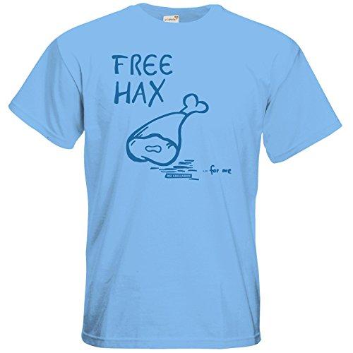 getshirts - Die Grillshow - The Shop - T-Shirt - Free Hax blau Sky Blue