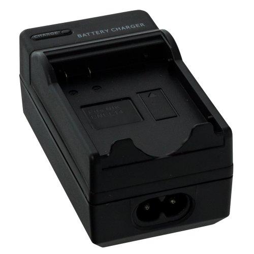 Smartfox Kameraakku Ladegerät für Nikon D3100 D3200 D5100 / P7000 P7100 P7700 / ENEL14 / Passend für Originalakku Bezeichnung: MH-24