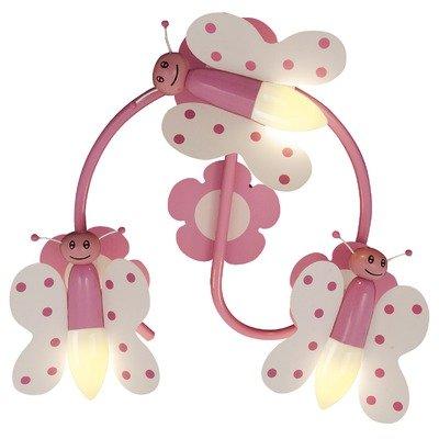"""Naeve Leuchten Kinder-Deckenleuchte """"Spiral-Schmetterling"""" 40 x 13 cm 1077219 von Naeve Leuchten GmbH - Lampenhans.de"""