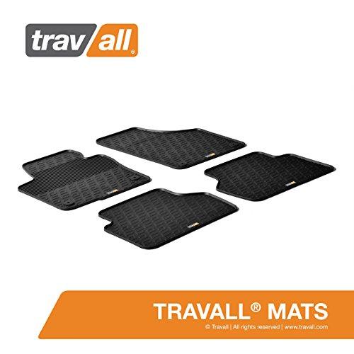 Travall® Mats Gummifußmatten - Original Travall® Zubehör TRM1017 – Allwettermatten nach Maß