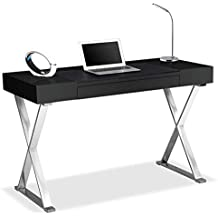 Centurion Supports ADONIS Gloss Black Ergonomic Home Office Computer Desk (Refurbished)