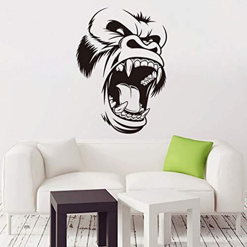 Yzybz Kunst Neues Design Billig Vinyl Gorilla Wall Decal Haus Dekor Abnehmbare Pvc Home Decoration Bunten Tyrannosaurus Rex Aufkleber