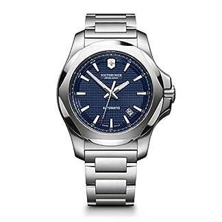 Victorinox Hombre I.N.O.X Mechanical – Reloj Suizo mecánico automático de Acero Inoxidable 241835