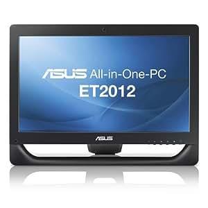 "Asus ET2012AGTB-B003C Ordinateur de bureau AIO 20"" (20,8 cm) AMD Brazos E450 1 To 4096 Mo Windows 7 ATI Radeon Mobility HD7470 Noir"