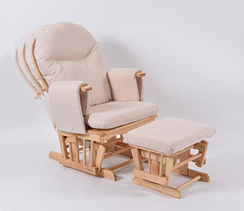 Habebe Glider Rocking Nursing Recliner Chair With