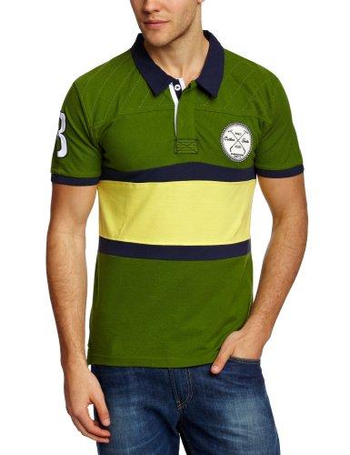 Selected Homme Herren T-Shirts  Polo Shirt Grün - Garden Green