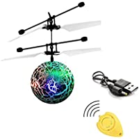 Price comparsion for Gemini_mall® Flying Ball, Kids Toys Remote Control Helicopter Mini Drone Magic RC Flying Toys with Shinning LED Lights Fun Gadgets for Boys Girls Kids Teenagers Adults