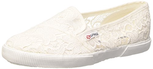 Superga 2210Macramew Slipon Donna Bianco 901 White 39 K7J