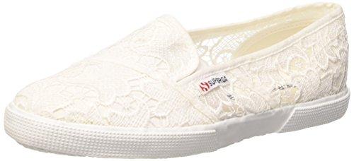 Superga 2210-Macramew, Slip-on, Donna, Bianco (901 White), 39