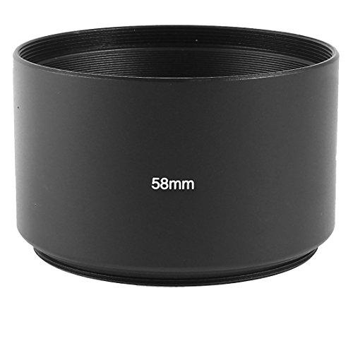 Galleria fotografica sourcingmap® 58 mm Tele in metallo-in lente per obiettivo macchina fotografica per fotocamera digitale