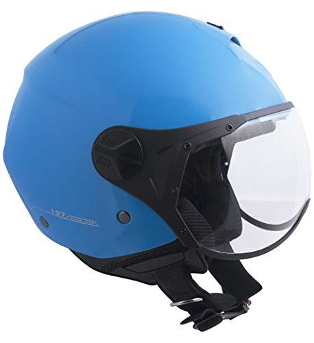 Preisvergleich Produktbild CGM Demi Jethelm S (55-56cm) hellblau