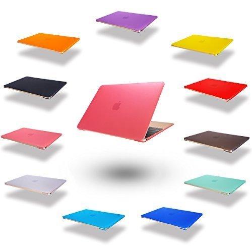 Elegantes und leichtes Cover Ultra Dünn Schutz Hülle Case Cover Schutzabdeckung Hardcase Notebook Hülle Hartschale Etui für Apple Macbook Air 11.6 Zoll(Modellnummer:A1370/A1465) in pink (11 Refurbished Air Macbook)