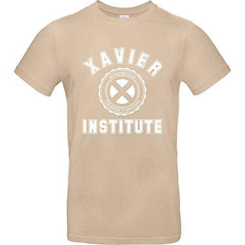 Xavier Institute - T-Shirt, Sand, Gr. XL