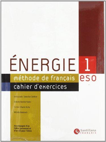 Energie 1 Cahier de Exercises - 9788429486674 por Carmen Martin Nolla