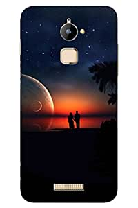 SRS Sunset At Sea 3D Back Cover for Coolpad Note 3 Lite