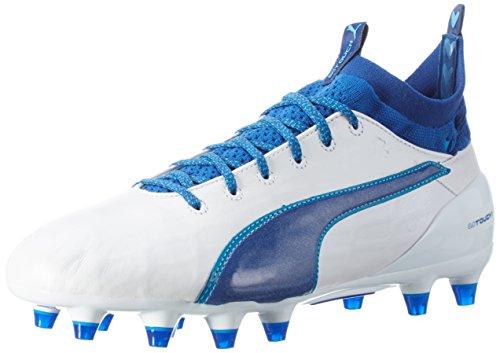 white 03 Puma evoTOUCH true danube 1 Fußballschuhe EU Weiß 41 blue Herren FG blue puma zzw6ZxrqR