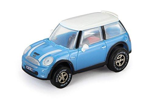 Darda 50380 - Darda Auto Mini blau / weiß, ca. 7,5 cm