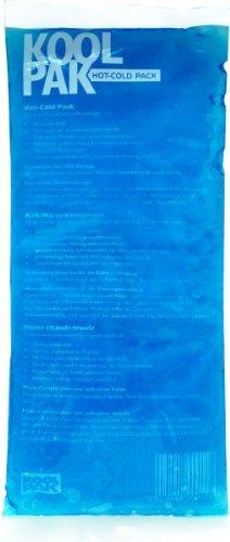Koolpak - Bolsa de gel reutilizable para aplicar frío y calor - Mediana - 12 x 29 cm