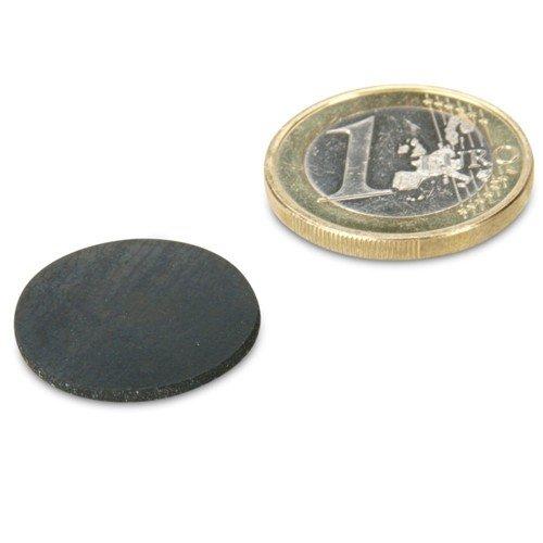 Gummi-Scheibe Ø 25 mm selbstklebend, Schutz von Oberflächen