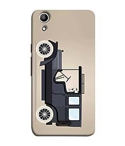 PrintVisa Designer Back Case Cover for Micromax Canvas Selfie Lens Q345 (Love Lovely Attitude Men Man Manly)