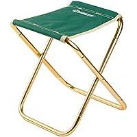 Preisvergleich für VORCOOL Tragbare Outdoor Aluminiumlegierung Klapp Camping Hocker Leichte Klappstuhl für Wandern Angeln Reisen Strand (Grün)