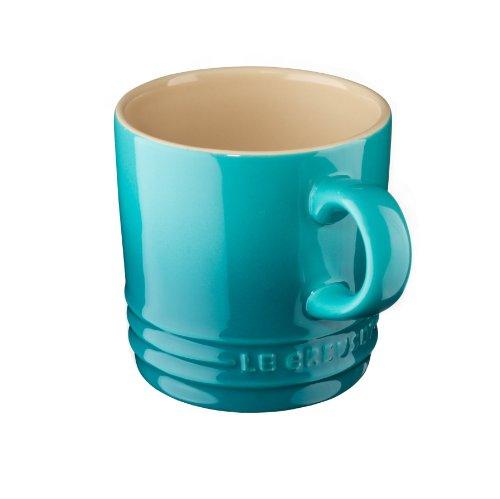 Le Creuset 91007210490000 Tasses à Espresso 0,1 L Bleu Caraïbes