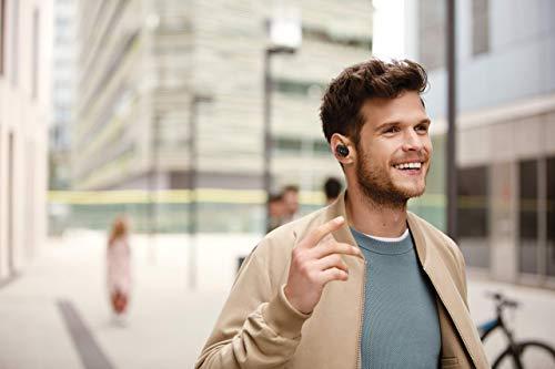 Sony WF-1000XM3 True Wireless Noise Cancelling Kopfhörer (bis zu 32h Akkulaufzeit, stabile Bluetooth Verbindung, Amazon Alexa, komplett kabellose Earbuds incl. Ladecase) schwarz - 15