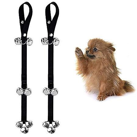 Hundetraining Glocke, WC-Trainingsglocke Interaktion Glocke aus Kunststoff und Stahlmaterial für das Wohn-Training