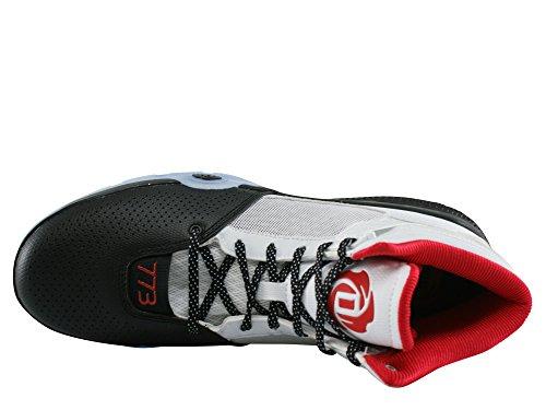 Adidas D ROSE 773IV J - FTWR WHITE/SCARLET/CORE BLACK
