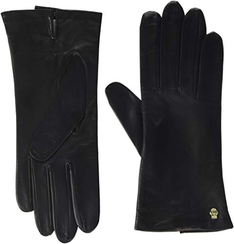 Roeckl Damen Ladies Dress Glove Handschuhe, Braun (Mocca 790), 7.5