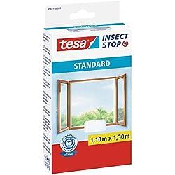 Tesa 55671-00020-02 Moustiquaire pour fenêtre Standard Blanc