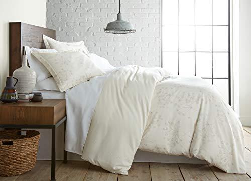 Feines Hemd southshore Linens Bedruckte Mikrofaser Bettbezug Sets Twin/Twin XL Soft Floral Perfect Cream (Florale Bettwäsche Twin Xl)