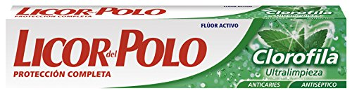 LICOR DEL POLO - CLOROFILA ultracleaning toothpaste 75 ml-unisex