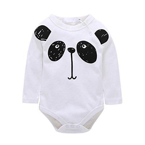Neugeborenen Babykleidung Unisex Bodysuit Strampler Langarm Tops Overall Outfit Set für Jungen und Mädchen von Shiningup (Am Besten Neugeborenen Halloween Kostüme)