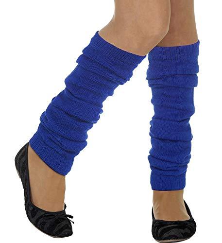 Monster Kostüm Mädchen Cookie - Jannes Deluxe Strick-Stulpen Blau