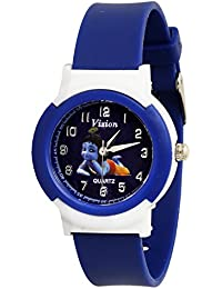 Vizion Analog Blue Dial (The Little Krishna) Cartoon Character Watch for Kids- 8811-4-2