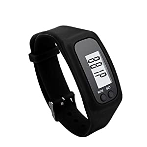 417Qf1JKNAL. SS300  - Toamen Best Fitness Tracker, Activity Tracker, Pedometer, Step Counter, Distance, Calorie Counter. Used for Walking or Running. (Black)