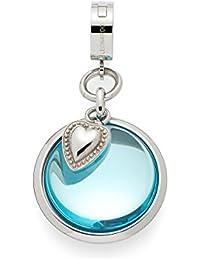 Leonardo Damen- Anhänger Darlin's Zuccheroso Edelstahl Glas blau - 015518