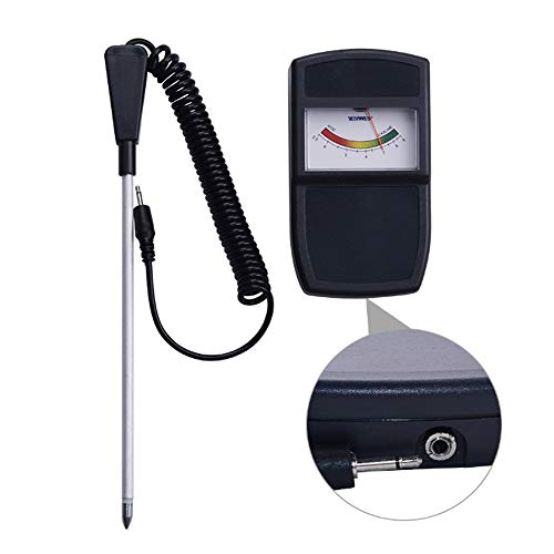 0 ℃ Outdoor 2 in 1 Pflanzen-Bodentester-Kit, Bodentester-Feuchtigkeitsmessgerät, Licht- und pH-Säuretester, Keine Batterie erforderlich Digital-batterie-tester-kit
