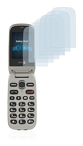 Savvies Schutzfolie für Doro PhoneEasy 632 [6er Pack] - klarer Displayschutz