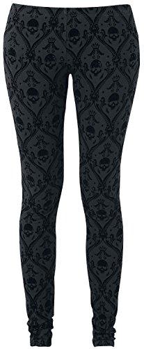 Black Premium by EMP Allover Skull Leggings nero L