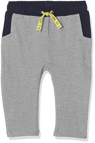 s.Oliver Baby-Jungen Jogginghose 65.805.75.7344, Grau (Light Grey Melange 9400), 74