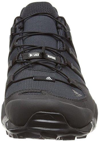 adidas Terrex Swift R, Scarpe da Escursionismo Uomo, Nero Nero (Negbas/Negbas/Griosc)